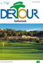 DERTOUR - Golfurlaub - Sommer 2010
