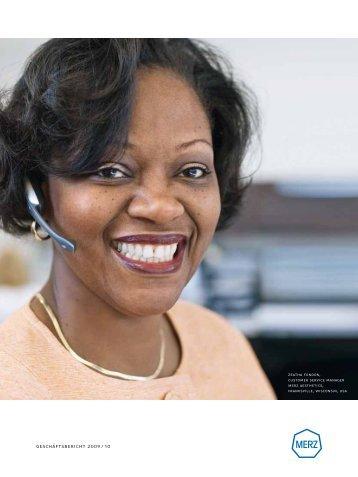 Merz Geschäftsbericht 2009/10 - Merz Pharma