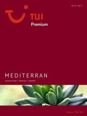 TUI - Premium: Mediterran - tui.com - Onlinekatalog