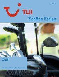 TUI - Schöne Ferien: Sports Golf - Sommer 2009 - tui.com ...