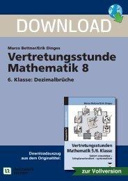Vertretungsstunde Mathematik 8 - Netzwerk Lernen