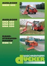 Broschüre UNA-SMT-RSM11_03 - Special Maskiner A/S