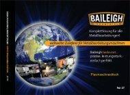 Plasmaschneidtisch - Baileigh Industrial