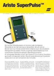 Aristo SuperPulse™ - Kaack Schweißtechnik GmbH
