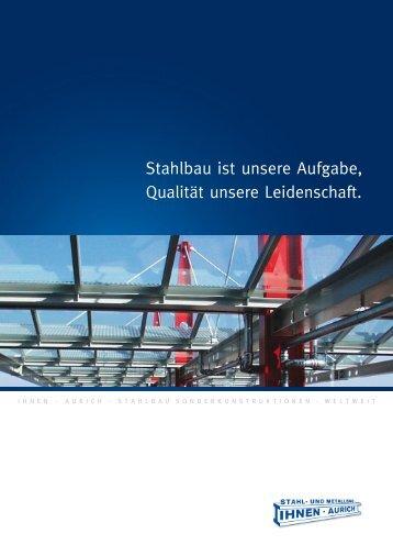 Stahl- und Metallbau IHNEN AURICH - Stahlbau und Metallbau ...