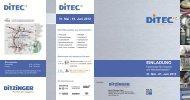 Info-Folder - Werner Ditzinger GmbH