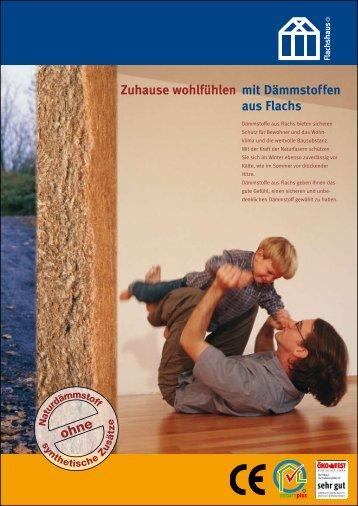 Prospekt Dämmplatte DP - Flachshaus GmbH