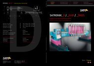 Download PDF SATRONIK_D Folder - Sato
