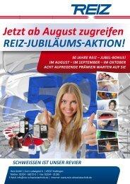 Jetzt ab August zugreifen - Reiz GmbH