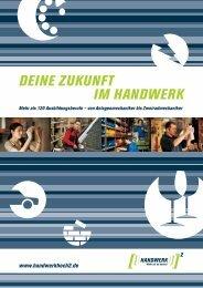 Deine Zukunft im Handwerk - Kreishandwerkerschaft Marburg