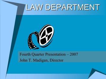 Fourth Quarter Presentation - City of Toledo