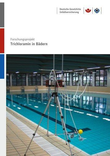 Trichloramin in Bädern - Deutsche Gesetzliche Unfallversicherung