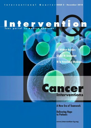 View the Mobile & Tablet Digital Edition - Interventional Quarter
