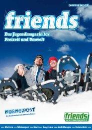 Friends-Magazin - Naturfreunde Österreich