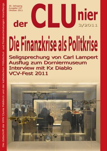 CLUnier 3/2011 - KMV Clunia Feldkirch