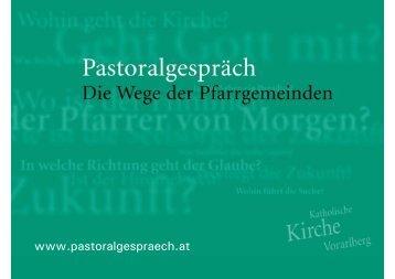 Walter Schmolly - Katholische Kirche Vorarlberg