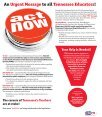 Tennessee's Teachers Will Not Be Silenced - Tennessee Education ... - Page 5