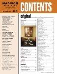 contents - Madison Originals Magazine - Page 3