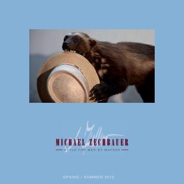 SPRING / SUMMER 2012 - Michael Zechbauer