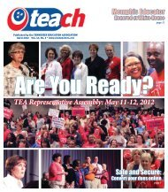 April - Tennessee Education Association