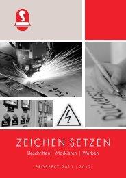 Schmorrde - Schilder - Katalog 2011/2012