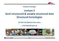 5. Semi structured and weakly structured data - Genomics ...