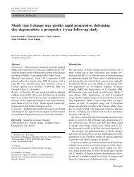 Modic type I change may predict rapid progressive - Neck Pain Relief