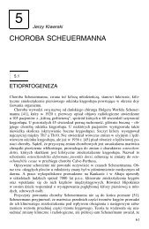 CHOROBA SCHEUERMANNA - Wydawnictwo Lekarskie PZWL