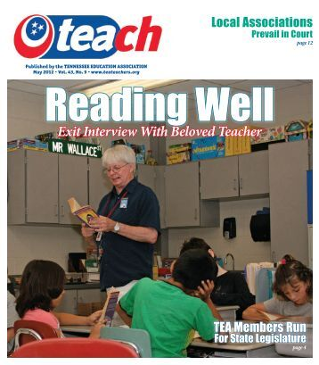 Exit Interview With Beloved Teacher - Tennessee Education ...
