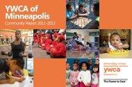 2011-2012 Community Report - YWCA of Minneapolis