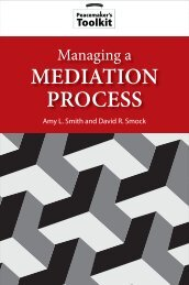 USIP Managing a Mediation Process - United States Institute of Peace