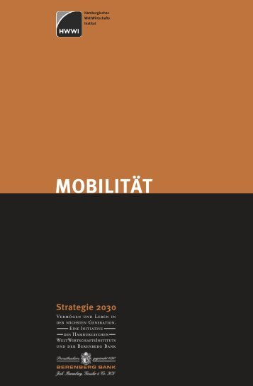 MOBILITÄT Strategie 2030 - Berenberg Bank