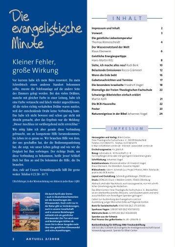 aktuell 2 - Bibel-Center.de