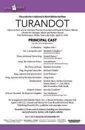 TurandoT - Lyric Opera of Kansas City