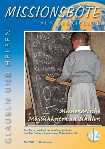 Ausgabe 2-2012 - Geschichte