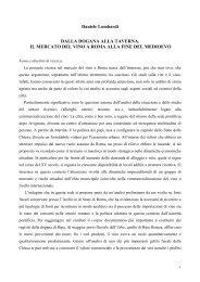 Scarica il progetto in formato PDF - Portale di Archeologia Medievale