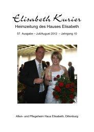 Elisabeth Kurier - Ausgabe Juli/August 2012