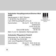 (AHB) Wartburgplatz 5, 28217 Bremen 38 08 015, Fax 38 08 017 mail