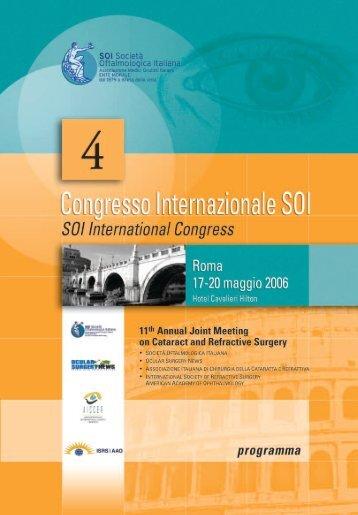 *PROGRAMMA DEFINITIVO - Società Oftalmologica Italiana