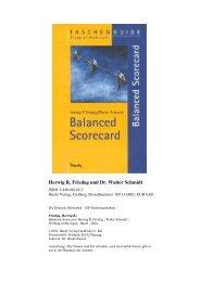 Herwig R. Friedag und Dr. Walter Schmidt - Forum Balanced ...
