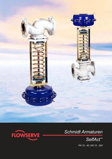 Schmidt Armaturen SelfActTM - Pernow Armaturen