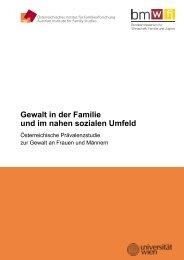 Gewalt in der Familie und im nahen sozialen - Bundesministerium ...