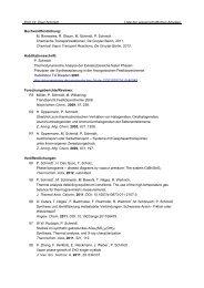 Prof. Dr. Peer Schmidt Liste der wissenschaftlichen Arbeiten ...