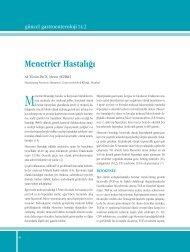 Menetrier Hastalığı - Güncel Gastroenteroloji