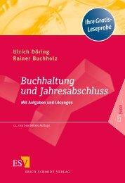 Buchhaltung und Jahresabschluss - Erich Schmidt Verlag