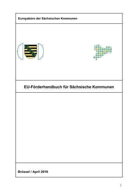 EU-Förderhandbuch für Sächsische Kommunen - Home / Aktuell