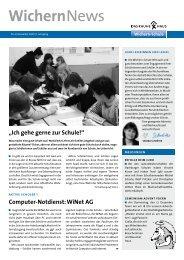 WichernNews 04/2009 - Wichern-Schule