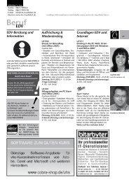 EDV für die - Volkshochschule Mühldorf a. Inn
