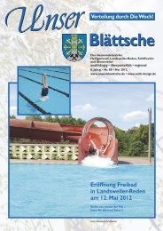 Unser Blättsche · Ausgabe 88 · Mai 2012 - VDesign Agentur für ...