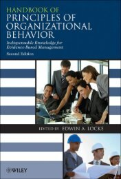 Principles of Organizational Behavior PDF - Robert Daigle